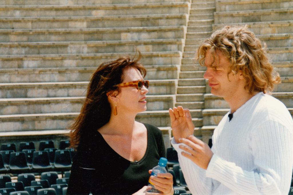 Iris Berben und Michael Steinbrecher, 1997