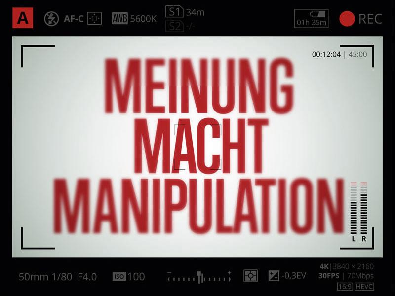 """BUCH """"Meinung Macht Manipulation"""""""