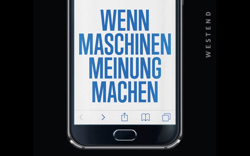 """BUCH """"Wenn Maschinen Meinung machen"""""""